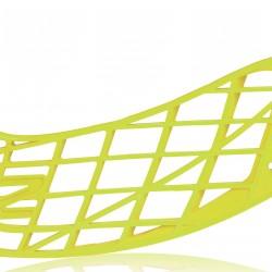 Salming Aero Z Blade Flou Yellow florbola spēlētāja lāpstiņa (1111308E-1919)