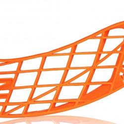 Salming Aero Z Blade Orange florbola spēlētāja lāpstiņa (1111308E-0808)