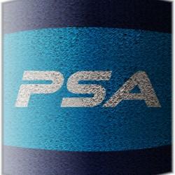 Salming PSA Wristband Short 2.0 Navy/Blue skvoša spēlētāja īsā sviedru aproce (1187864-0403)