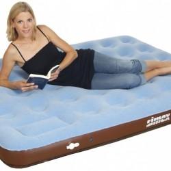 High Peak Single Comfort Plus piepūšamā gulta ar integrētu kājas pumpi (40065)