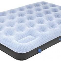 High Peak Comfort Plus Double Airbed piepūšamā gulta ar integrētu kājas pumpi (40025)