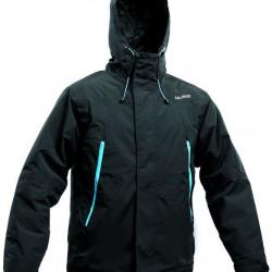 Salming 365 Team Jacket Black sporta vējjaka ar kapuci (365TJ)