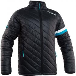 Salming Quilted Jacket sporta vējjaka ar augstu kaklu (1194670-0101)