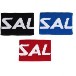 Salming Wristband Mid blue,black,red florbola spēlētāja vidējā sviedru aproce (1188873-0303, 1188873-0101, 1188873-0505)