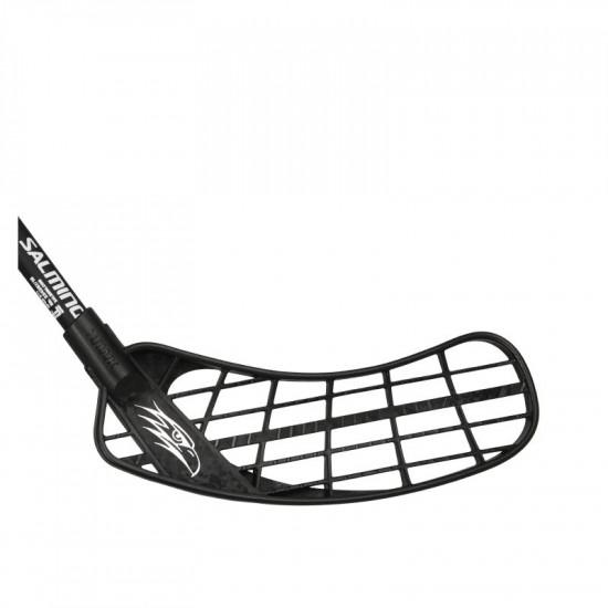 Salming Hawk Powerlite Oval KZ Jr florbola spēlētāja nūja (1098305-0101)