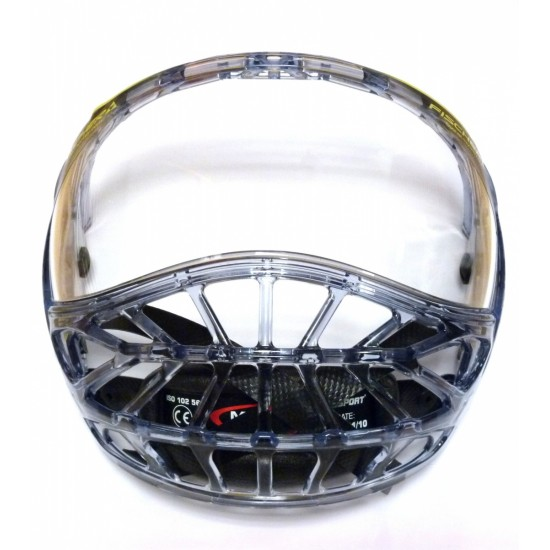 Fischer Full Face Protector And Visor hokeja spēlētāja pilns aizsargstikls (H04712)