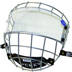 Hejduksport Uniplexi Face Protector And Visor hokeja spēlētāja aizsargstikls ar režģi (CageBoy)
