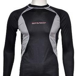 Sherwood Clima Plus 3M Long Sleeve Shirt Jr hokeja spēlētāja garais kompresijas krekls (8426)