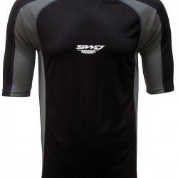 Sherwood Clima Plus 3M Loose Fit Shirt Sr hokeja spēlētāja īsais kompresijas krekls (8427)
