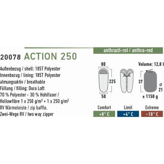 High Peak Action 250 kokona guļammaiss (20078)