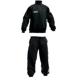 X3M Sweatsuit Sr Halfzip Black sporta treniņtērps (31996011)