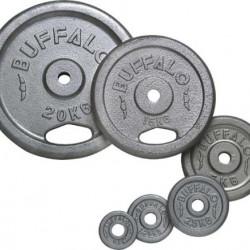 Buffalo Cast -Iron Dumbbell Plates 2x1.25kg svarcelšanas diski (65451)