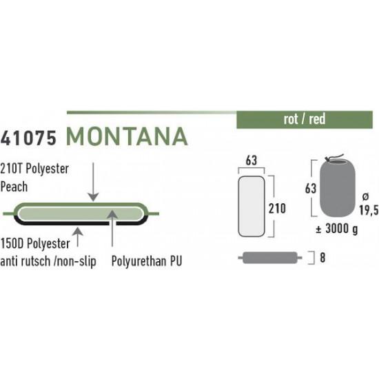 High Peak Montana Trekking Mat pašpiepūšamais paklājs (41075)